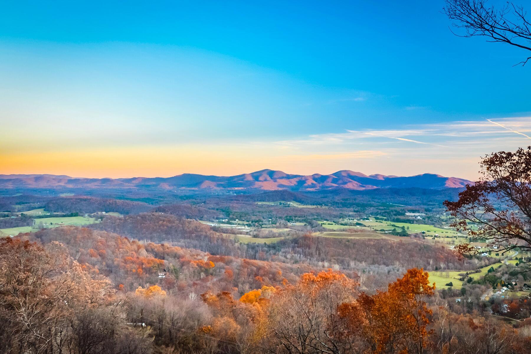 Roanoke to Staunton, Virginia