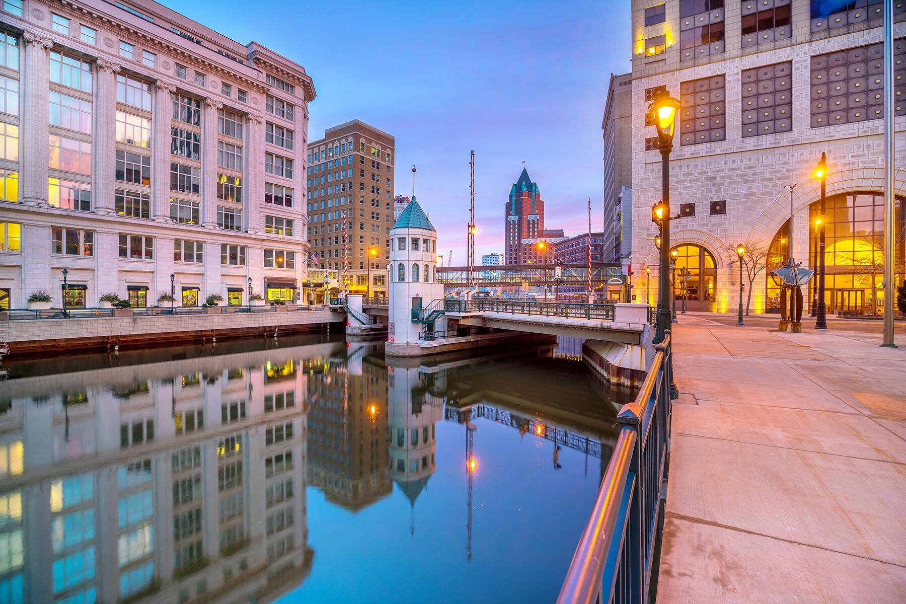 Madison to Milwaukee, Wisconsin