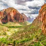 Page to Zion National Park, Utah