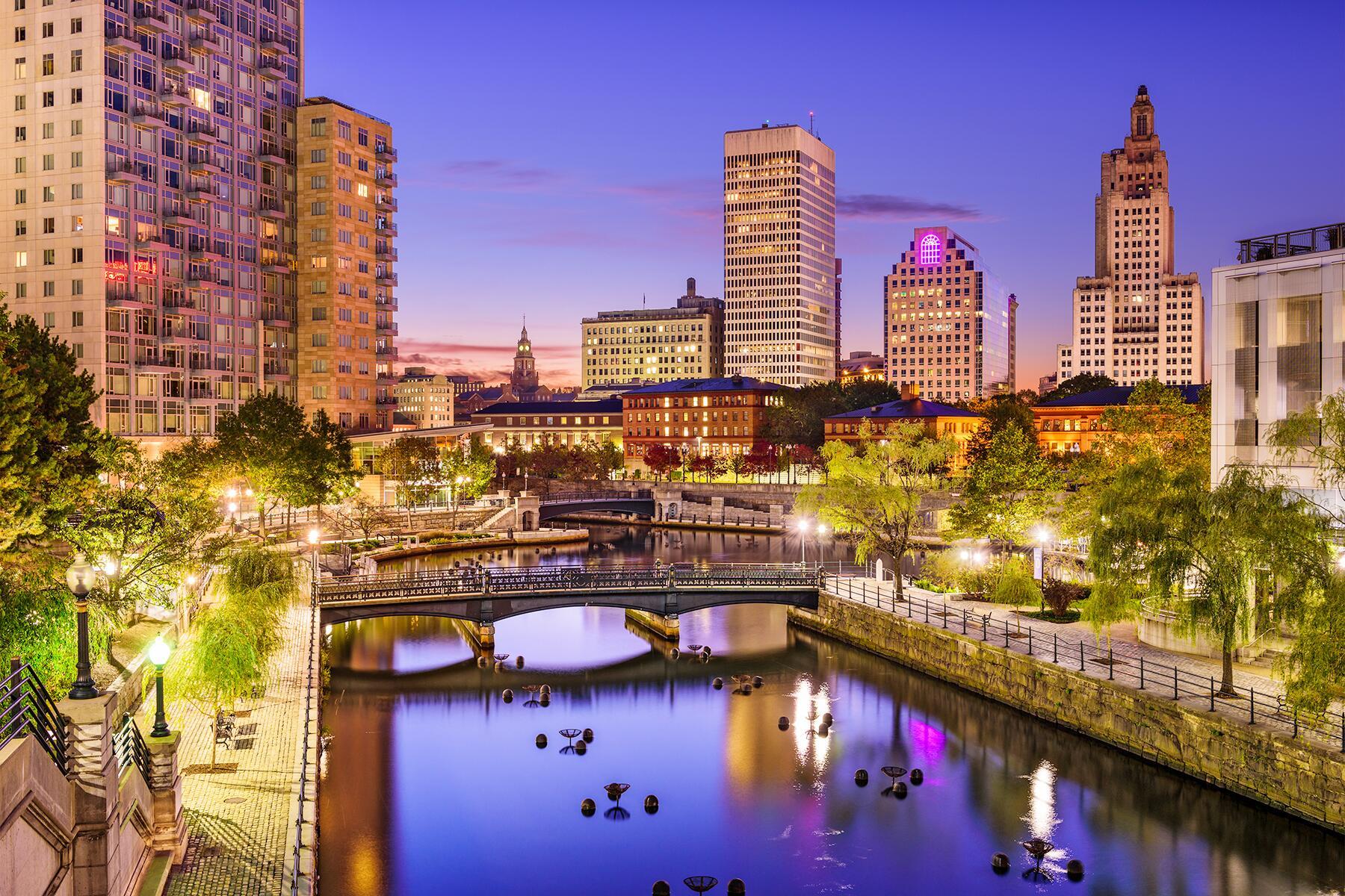 Litchfield to Providence, Rhode Island