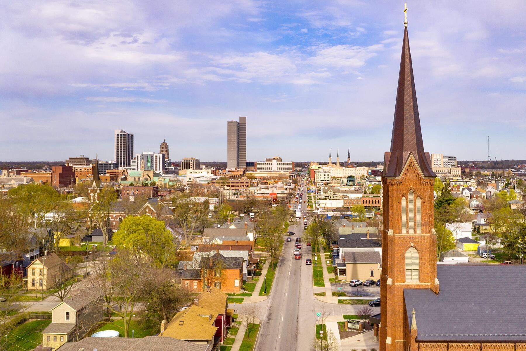 Detroit to Fort Wayne, Indiana
