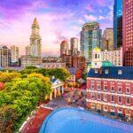 Newport to Boston, Massachusetts