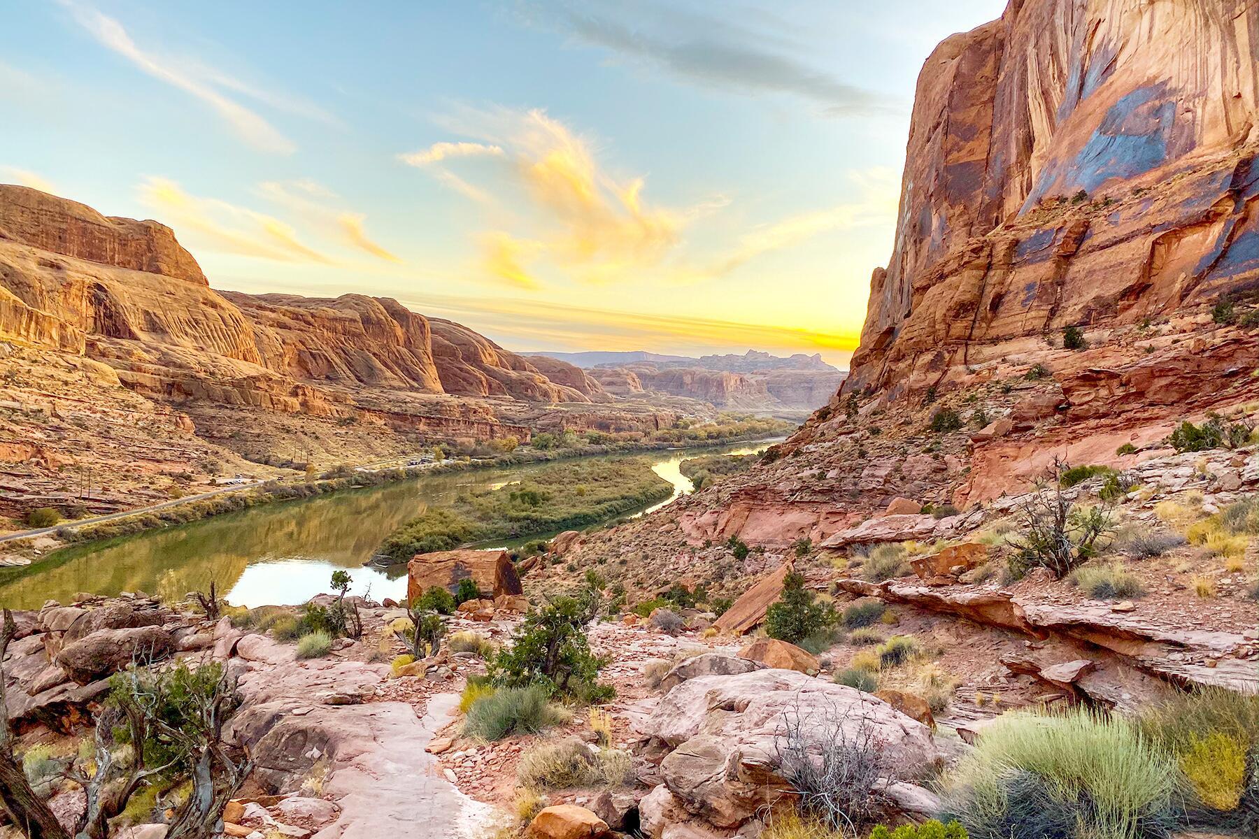 Denver to Moab, Utah