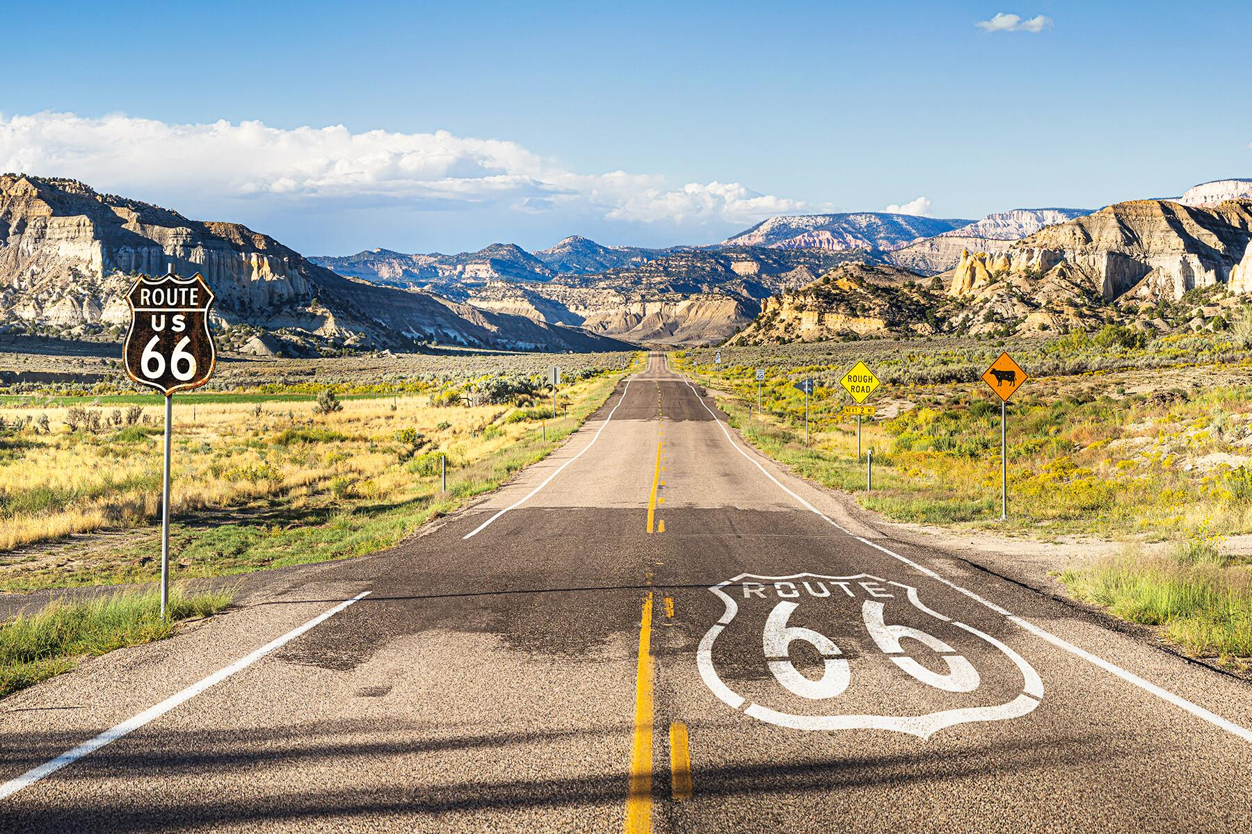 Route 66: A Journey Along the