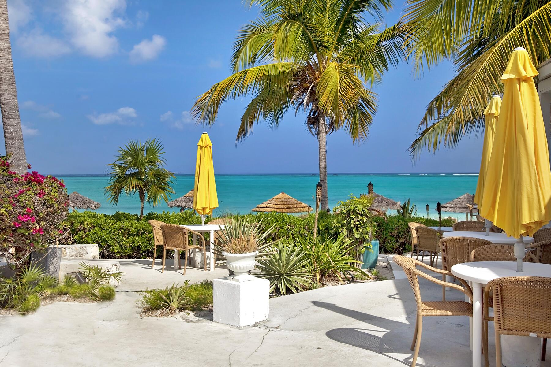 08_TurksAndCaicosCOVID__BeachfrontDining_shutterstock_100965901