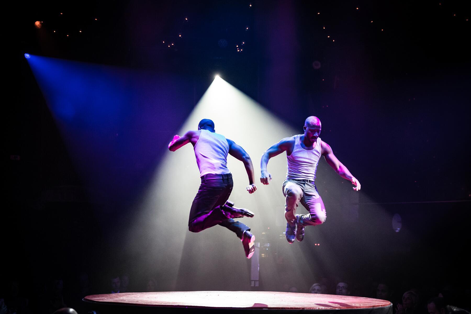 Tap Dancing Twins Sean and John Scott_AbsintheLasVegas_Credit-ErikKabik