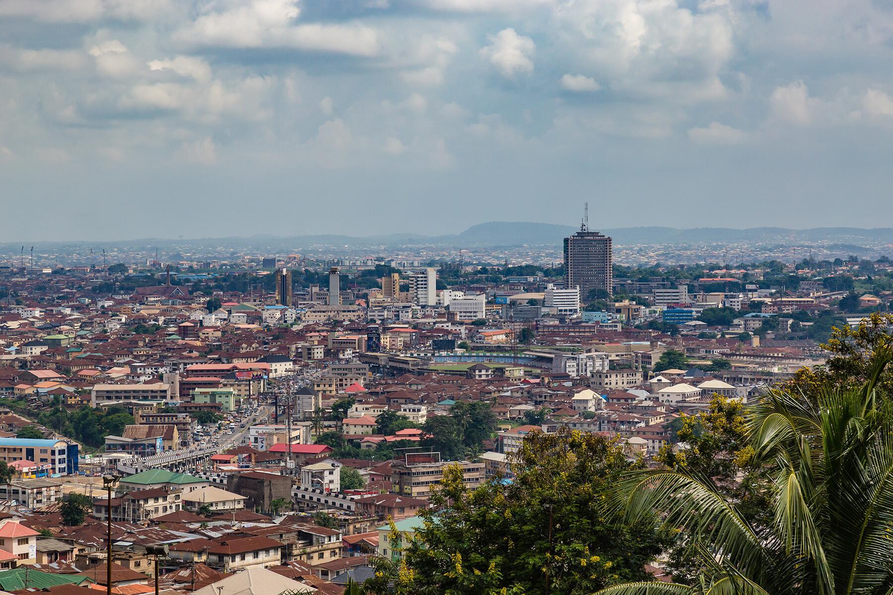Ibadan - a city in Nigeria