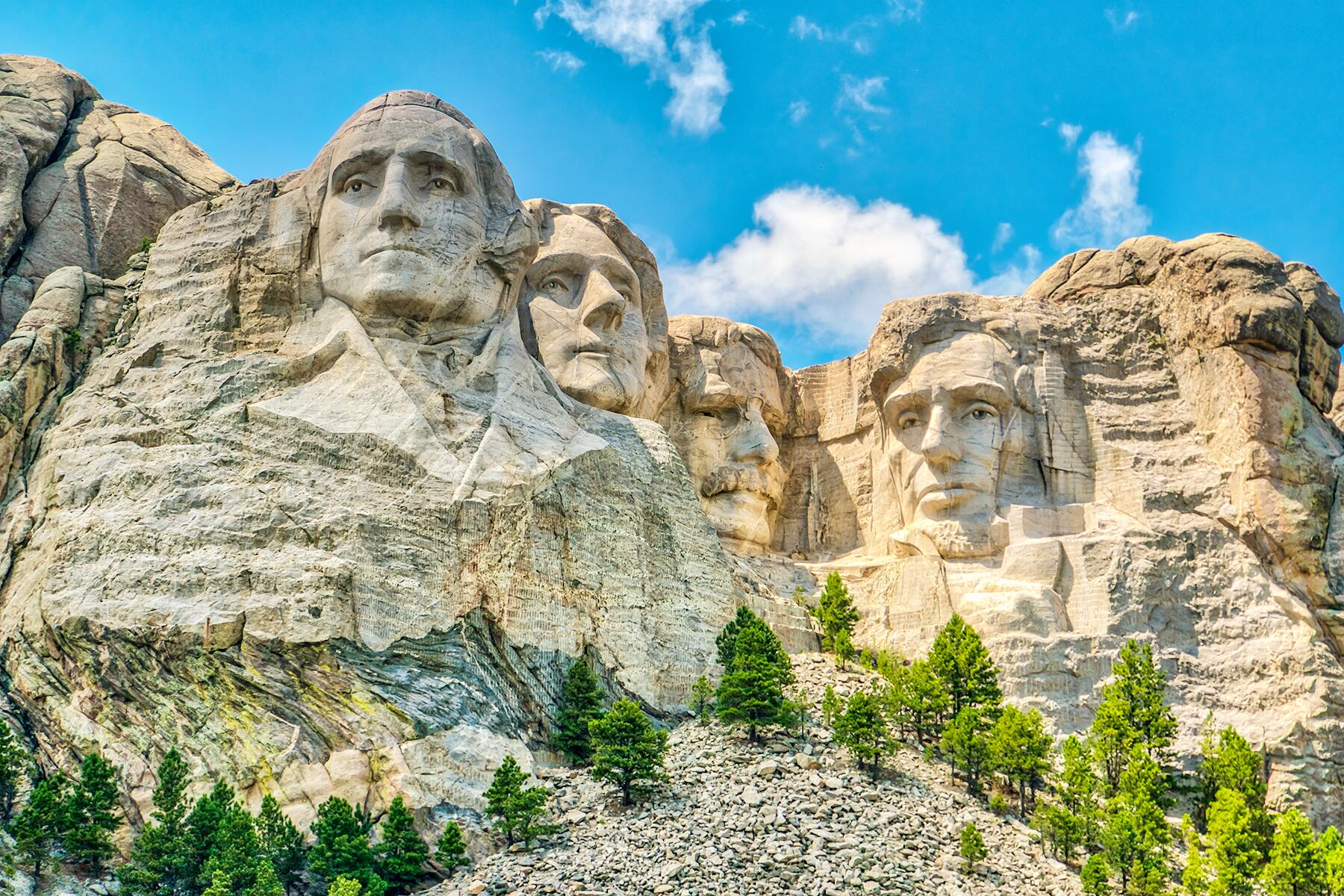 Badlands National Park to Mount Rushmore, South Dakota