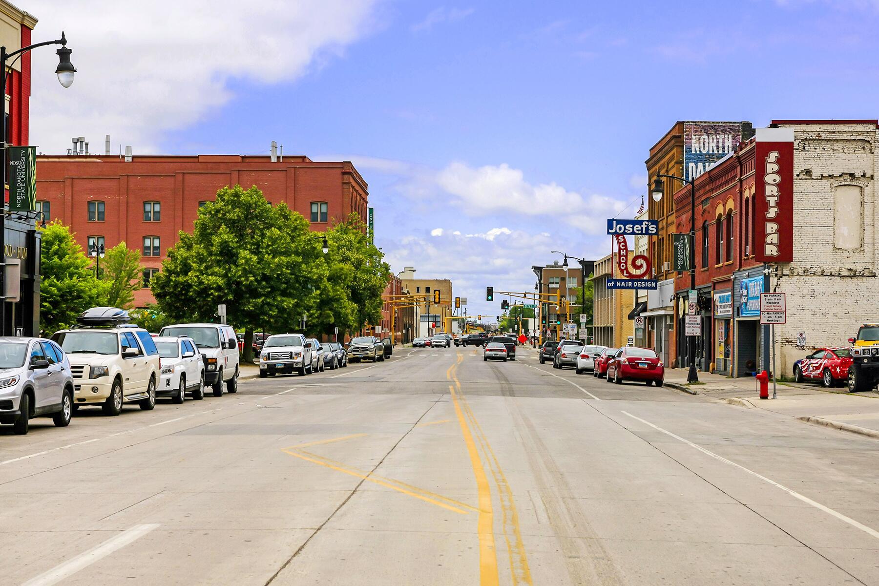 Bismarck to Fargo, North Dakota