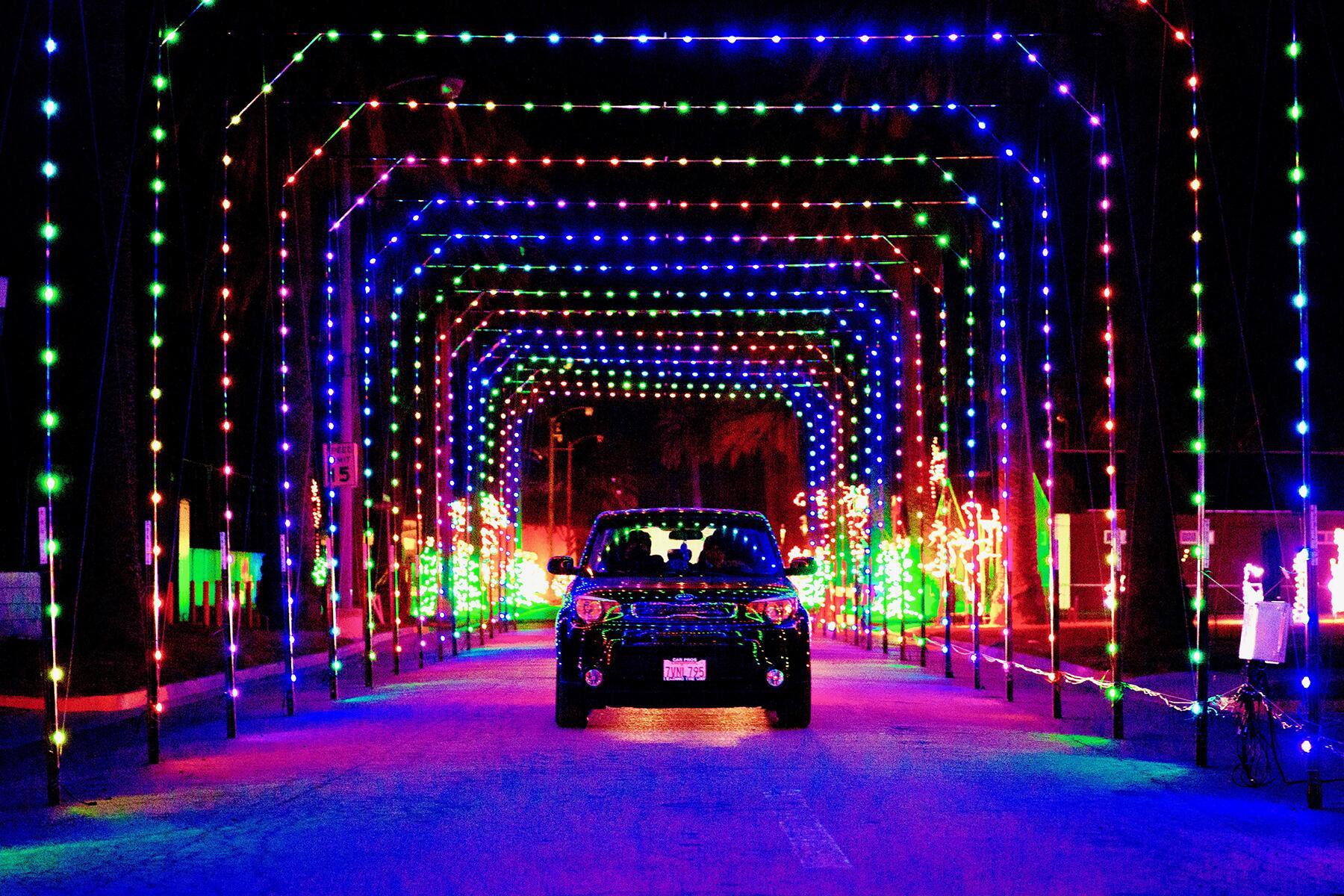 Drive Thru Christmas Lights 2021 12 Drive Thru Christmas Light Festivals Perfect For Celebrating A Socially Distant Holiday